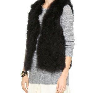 Club Monaco Violet Feather Vest XS
